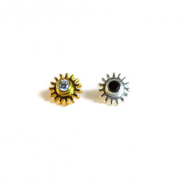 NEW - Yin and Yang Stud Earrings