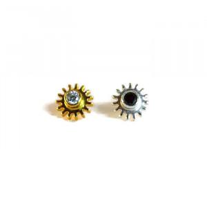 NEW - Yin and Yang Stud Earrings