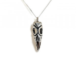 NEW - Three Eyed Raven Necklace