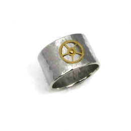 Deluxe Steampunk Band Ring
