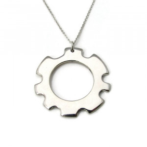 Deluxe Steampunk Gear Necklace