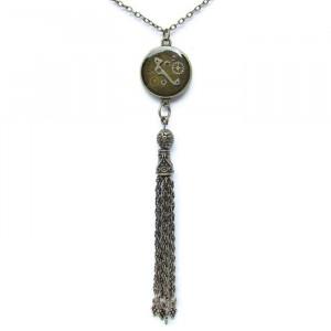 Steampunk Tassel Necklace