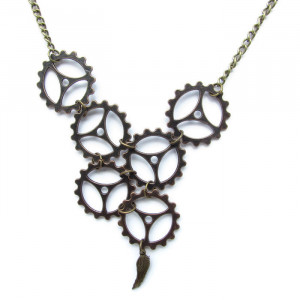 Steam Angel Necklace
