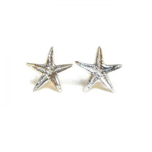 Deluxe 'Sea Star' Earring Studs