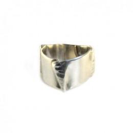 Fold Forming Fun - Silver Ring