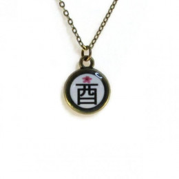 Rooster 酉 (tori) Necklace
