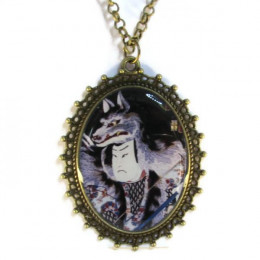 Wolf Hat - Necklace
