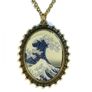 The Great Wave - Necklace
