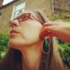 Jewel Beetle Wing Earrings   Iridescent Statement Earrings   Magical Fairy Earrings   Entomologist Gift
