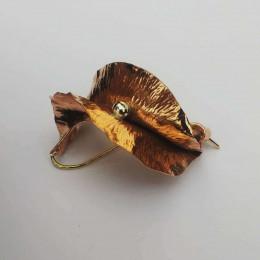 NEW - Leaf Brooch