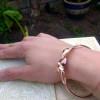 Organic Copper Bangle   Metal Origami Bangle   Healing Copper Jewelry   Healing Bracelet   Fold Formed Bangle   Handmade in the UK