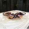 Healing Copper Bangle | Organic Copper Jewelry | Metal Origami Bangle | Healing Bracelet | One Of A Kind Fold Formed Bangle