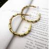 Twisted Brass Hoops | Swirly Hoop Earrings | Contemporary Gift for Her | Brass Jewelry | Statement Earrings | Zoom Jewelry