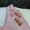Elegant Swirly Copper Earrings | Contemporary Affordable Earrings | Wavy Light Statement Earrings | One Of A Kind Handmade Jewelry