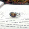 Tree Agate Ring | Dendritic Agate Silver Ring | Healing Crystal Ring | One Of A Kind Gemini Gift | Magical Statement Ring | Eco Silver Jewellery