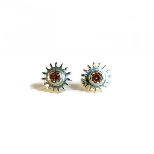 NEW - Steampunk Stud Earrings