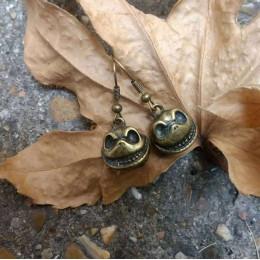 Halloween Skull Earrings   Nightmare before Christmas Earrings   Cosplay Costume Earrings   Jack Skeleton Earrings