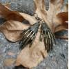 Skeleton Hand Earrings  Spooky Birthday Gift   Horror Costume Earrings   Cosplay Jewelry