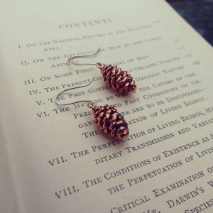 NEW - Mini Alder Cones Earrings