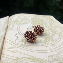 NEW - Alder Cones Earrings