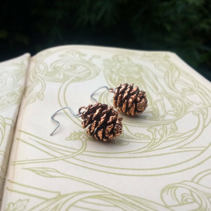NEW - Alder Cones Earrings