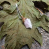 NEW - Rose Quartz Pendant on Sterling Silver Chain