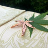 NEW - Real Japanese Maple Leaf Pendant