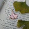 NEW - Cute Baby Ginkgo Leaf Pendant