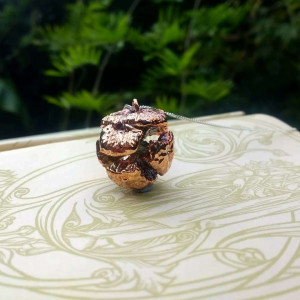 NEW - Greek Cypress Cone Pendant