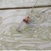 NEW - Clear Quartz Pendant on Sterling Silver Chain