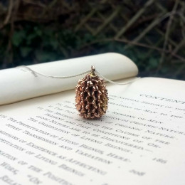 Casuarina Cone Necklace   Vietnamese Pine Cones   Botanical Jewellery   Nature Inspired Jewellery   Organics   Mother's Day Gift