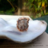 NEW - Mermaid Shell on Sterling Silver Ring