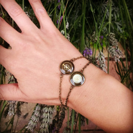 Elegant Steampunk Bracelet | Mechanical Victorian Bracelet for Her | Geek Girl Bracelet| Cyperbunk Resin Bracelet | Steampunk Lover Gift