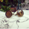 Large Steampunk Cufflinks