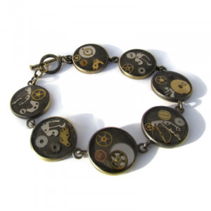 Beautiful Steampunk Bracelet