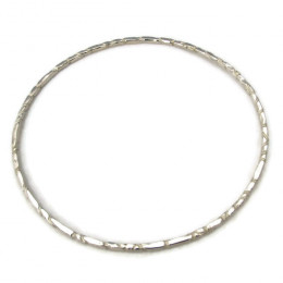 Deluxe Silver Bangle I