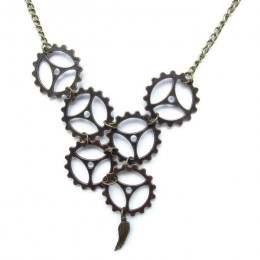 Steam Angel Necklace