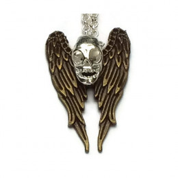 'Happy Soul' - Angel Skull Necklace