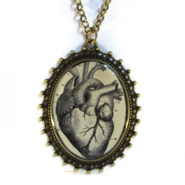 'Rising in Love' - Victorian Style Oval Necklace