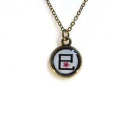 Snake 巳 (hebi) Necklace