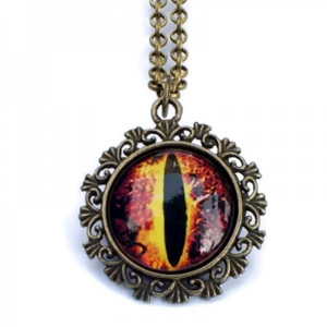 Brown Dragon Eye Necklace